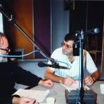 Καλοκαίρι 1990. Με τον π. Γεώργιο Μεταλληνό στα πρώτα βήματα του Ραδιοσταθμού της Εκκλησίας της Ελλάδος.