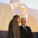 Με τον Πρωθυπουργό Αντώνη Σαμαρά κατά την παρουσίαση του ευρωψηφοδελτίου της Νέας Δημοκρατίας, την Μεγάλη Τρίτη 15 Απριλίου 2014.